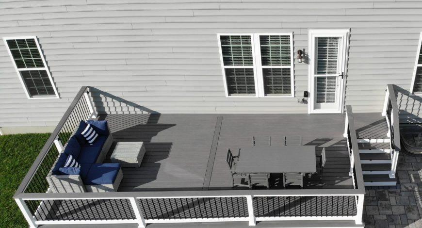 decks, azek, deck railings, deck skirting