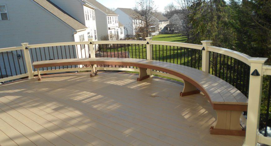 azek deck, pvc decking, vinyl deck railing, decks,deck post lights