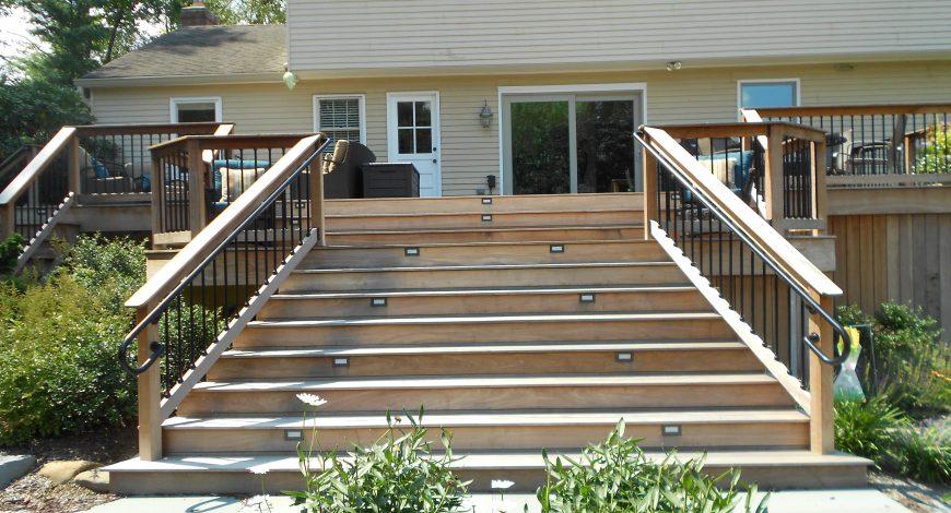 ipe, ipe wood, hardwood decks, wood decks, decks, ipe deck railing