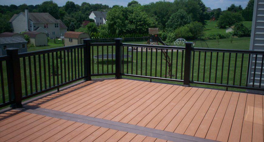 timbertech decking, radiance railing, deck railing, decks,