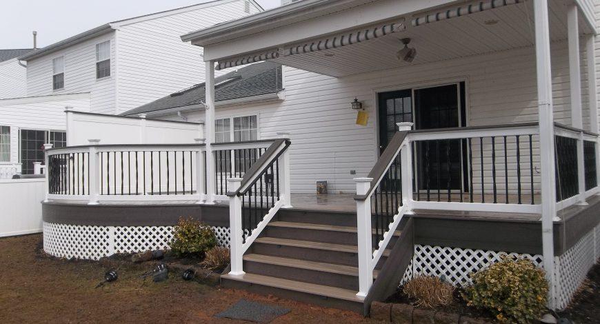 azek decking, composite decks, decks, vinyl deck railings